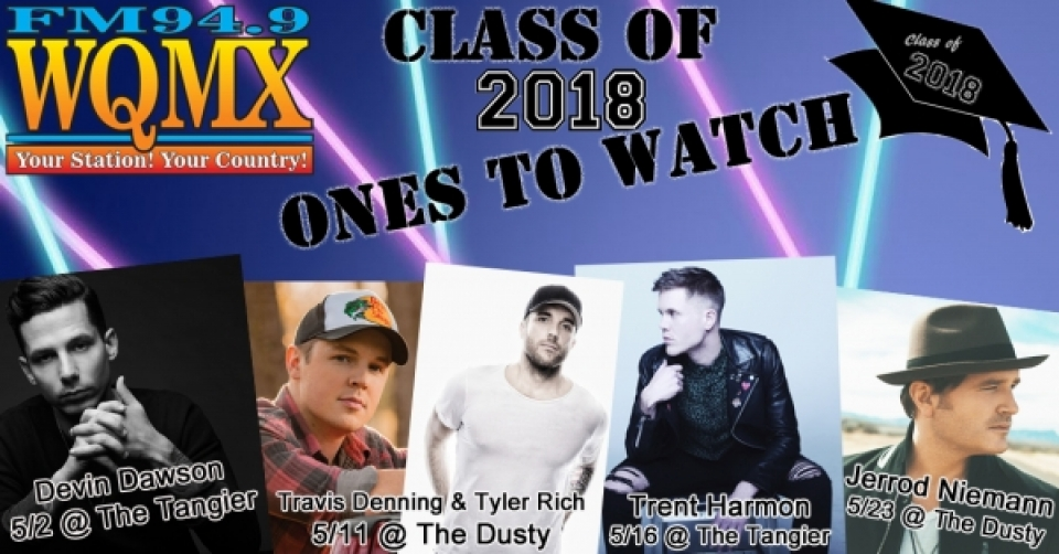 WQMX Ones to Watch 2018 Concert Series