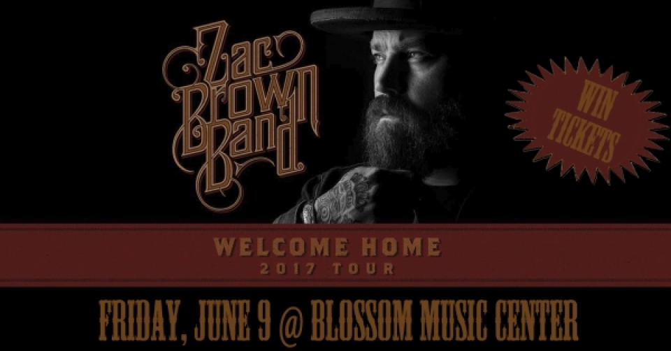 Win Zac Brown Band Tickets