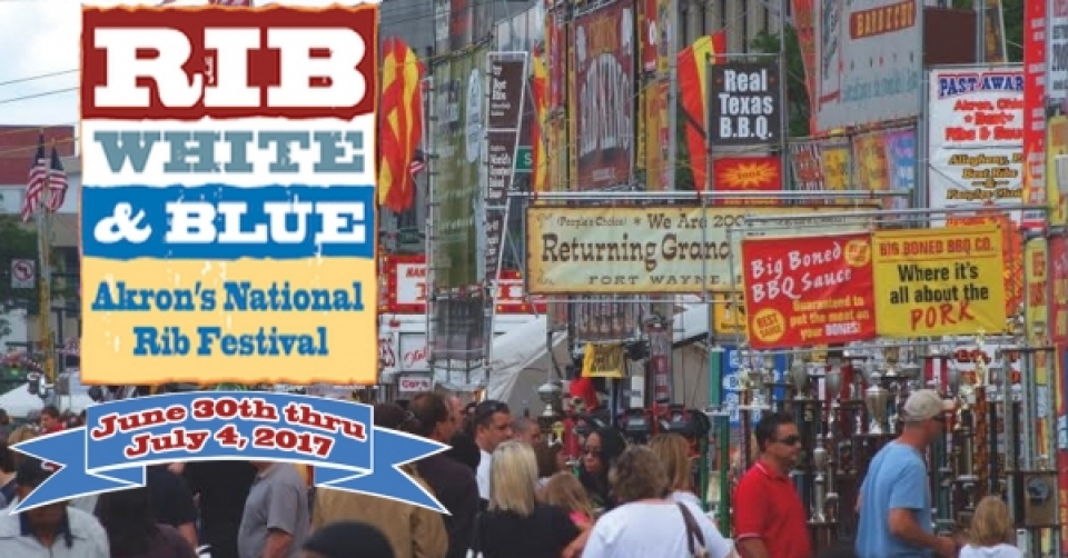 Akron's Rib, White & Blue Festival