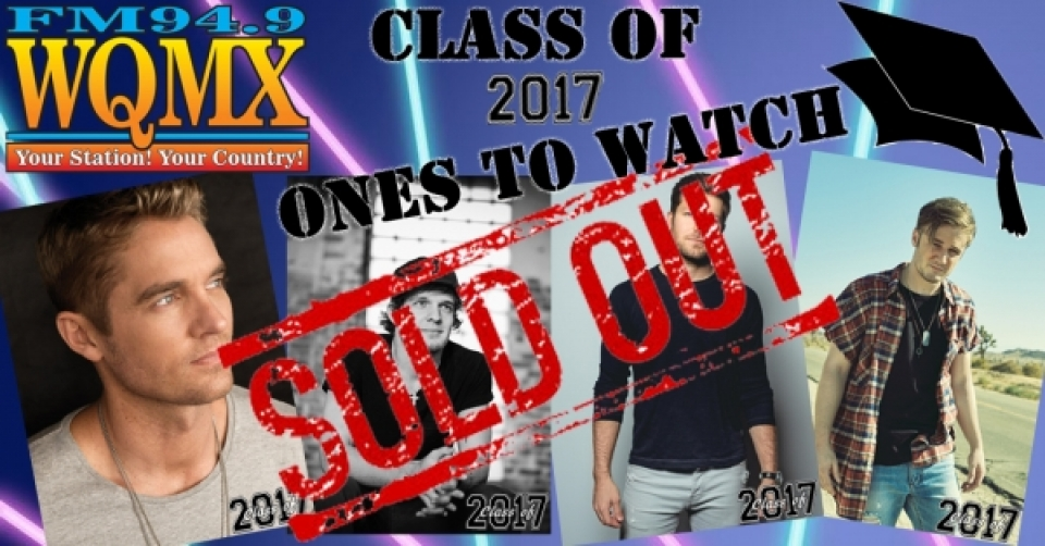WQMX Class of 2017 Ones to Watch Charity Concert