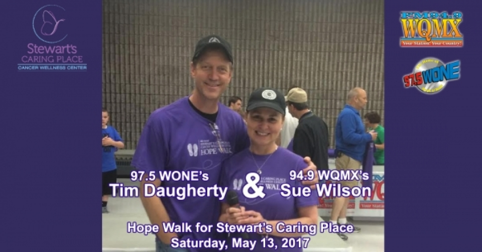 WQMX Team: 2017 Hope Walk for Stewart's Caring Place