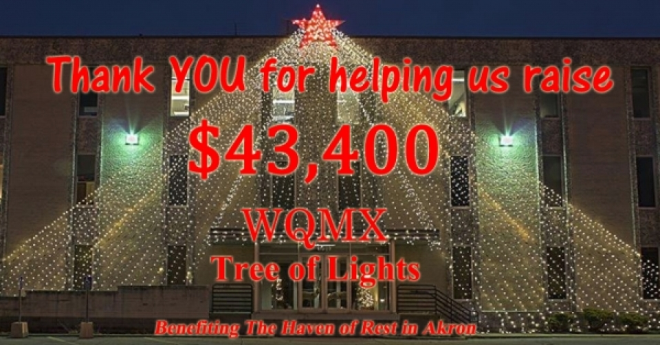 WQMX Tree of Lights 2016 THANK YOU!