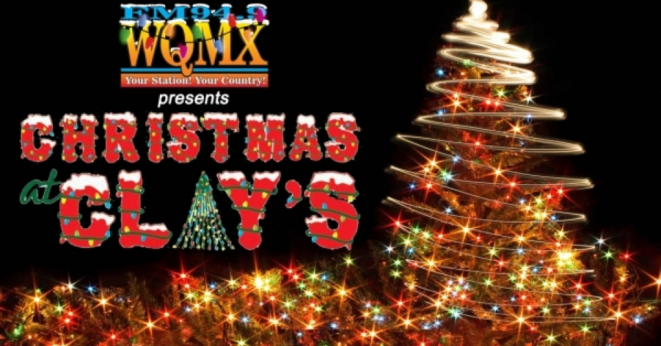 WQMX presents Christmas at Clays