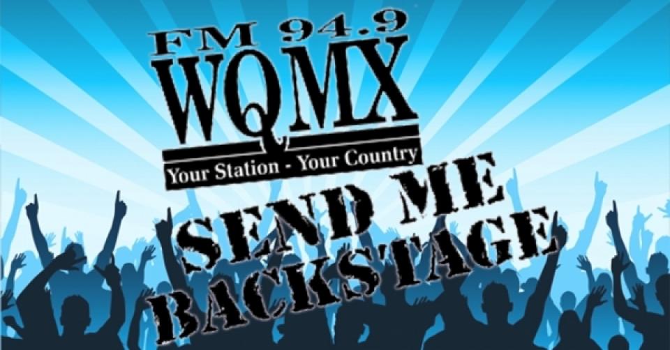 WQMX Send Me Backstage Ticket Stops 2017