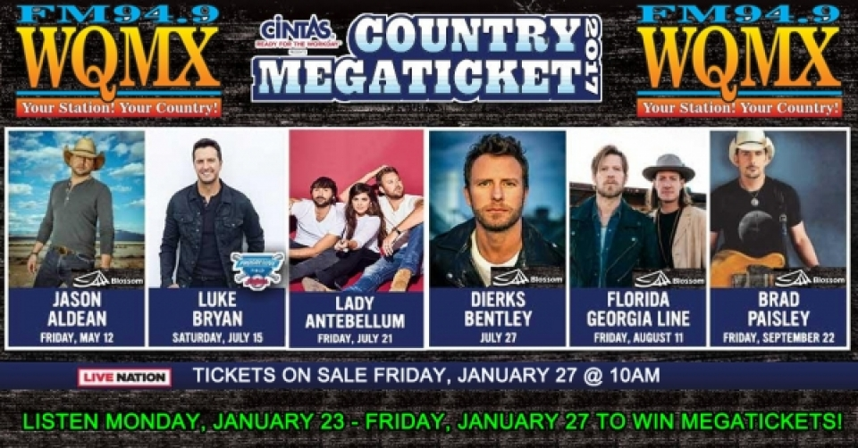 Country Megaticket 2017