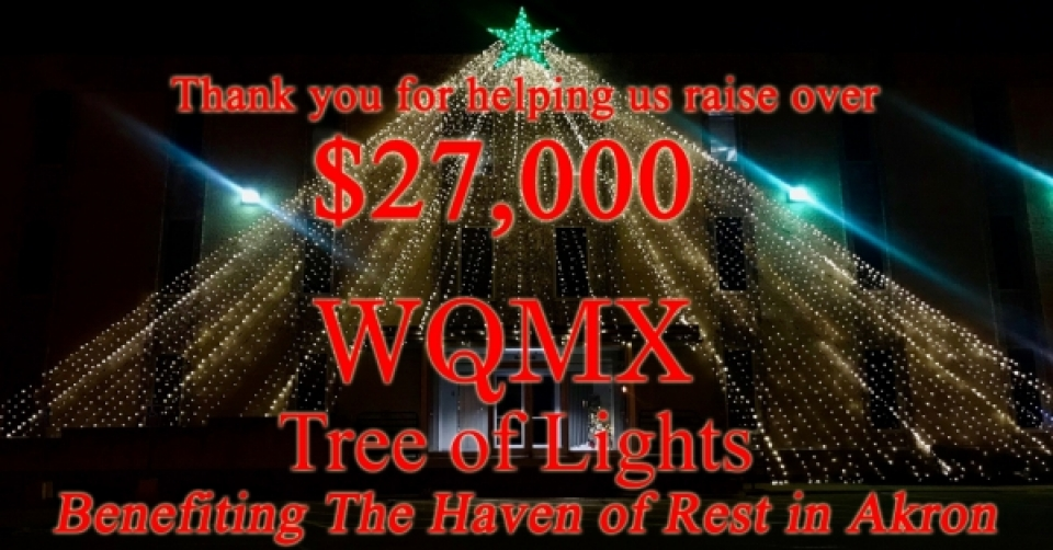 WQMX Tree of Lights 2017 THANK YOU!