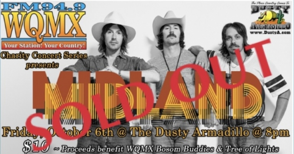WQMX Charity Concert with Midland
