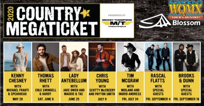 2020 Country MegaTicket