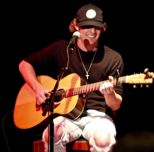 Tucker Beathard performs at the WQMX Ones to Watch Charity Concert