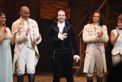 Hamilton is coming to movie theaters!