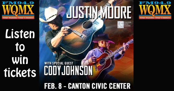 Win Justin Moore tickets