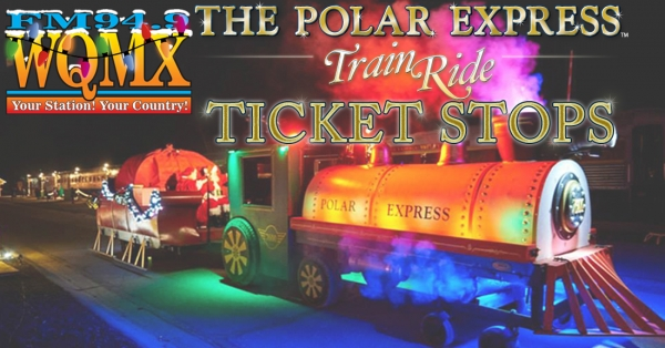 The Polar Express Ticket Stops