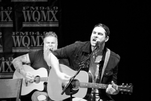 Matt Stell performs at the 2019 WQMX Ones to Watch Charity Concert