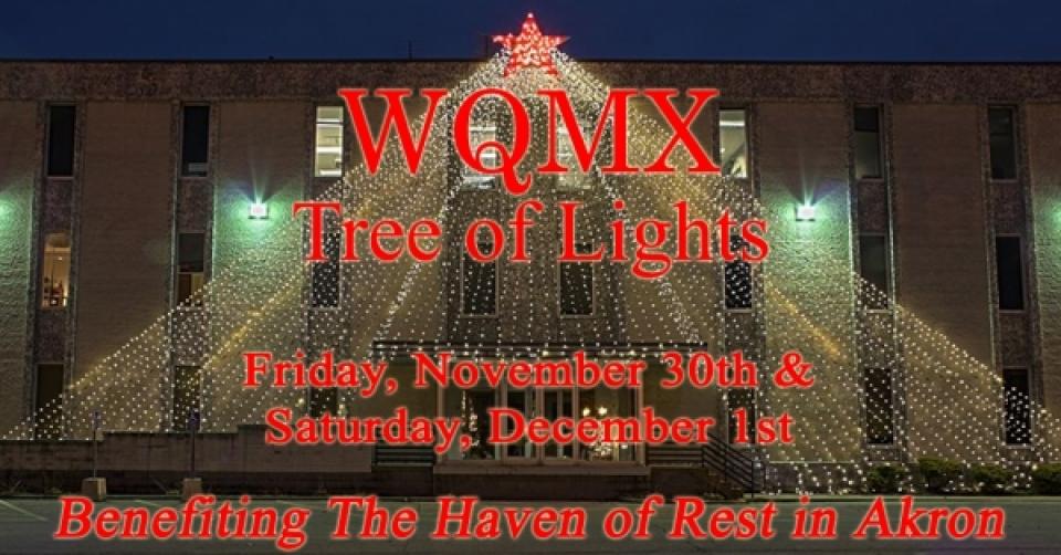 WQMX Tree of Lights 2018