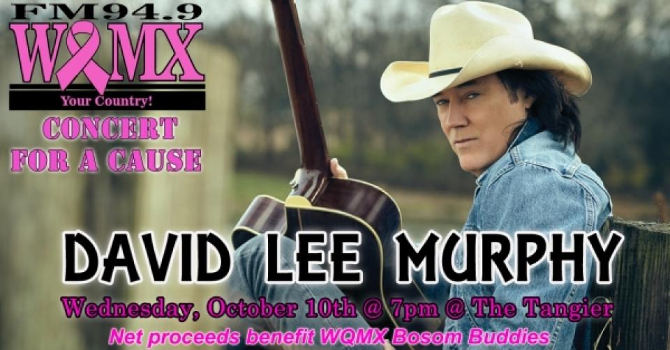 WQMX Charity Concert with David Lee Murphy