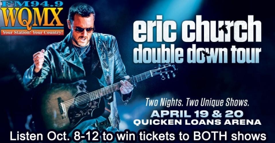 Eric Church 'Double Down' Tour 2019
