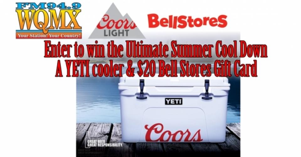 Win a Yeti Cooler